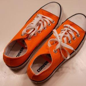 Converse Shoes - Neon Orange Converse Size 5 Men's 7 Women's